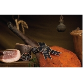Raw ham from the Calabrian Black Pork (Suino Nero di Calabria)