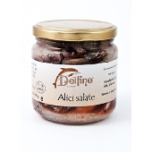 Salted anchovies - Delfino