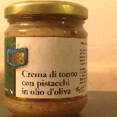 Tuna and pistachio cream in olive oil - Mare Puro