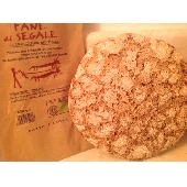 Pane Biologico con Farina di Segale Cotto a Legna - 500 gr.