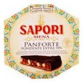 70% Extra dark chocolate Panforte - Sapori Siena