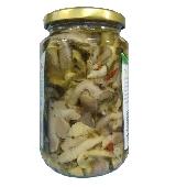 Mushrooms mixed with Calabrese - Calabria Scerra
