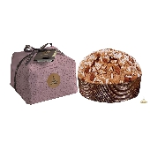 Panettone Tradizionale with almonds - hand wrapped - Fiasconaro