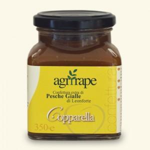 Leonforte yellow peaches jam - Agrirape