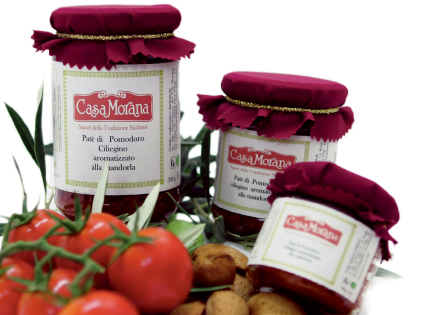 Cherry tomato pat� with almond flavour Casa Morana