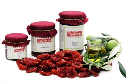 Dried cherry tomatoes in olive oil Casa Morana
