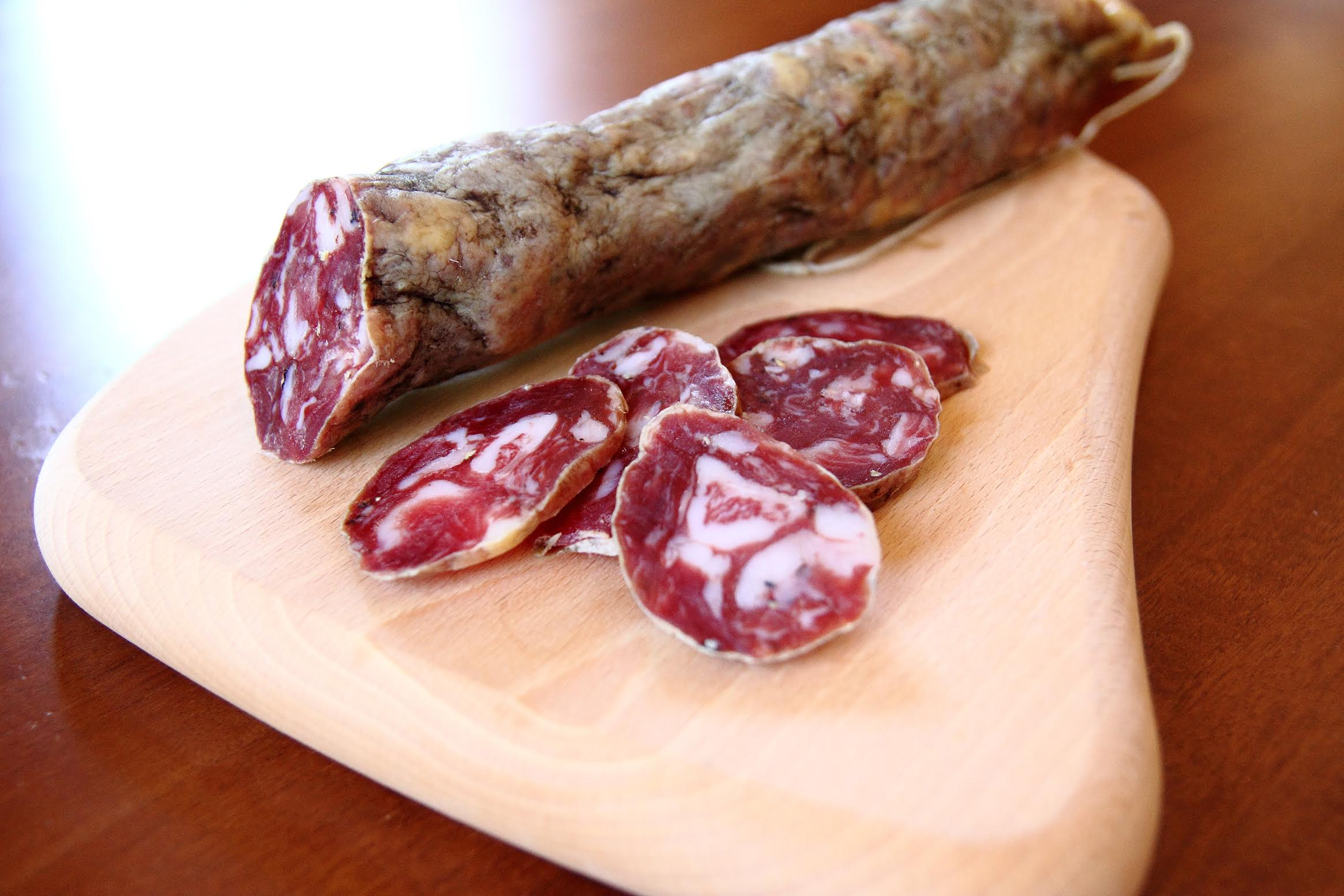 Nero dei Nebrodi (Nebrodi Mounts black pig) Salami - Ponte due Archi