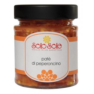 Conserve SoloSole - Pat� di Peperoncino