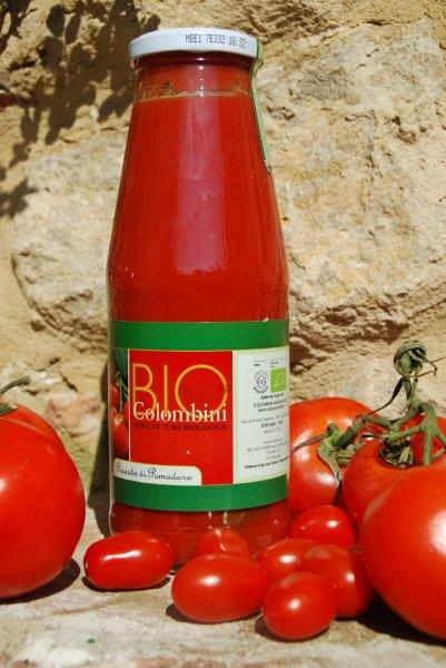 Organic tomato passata BioColombini