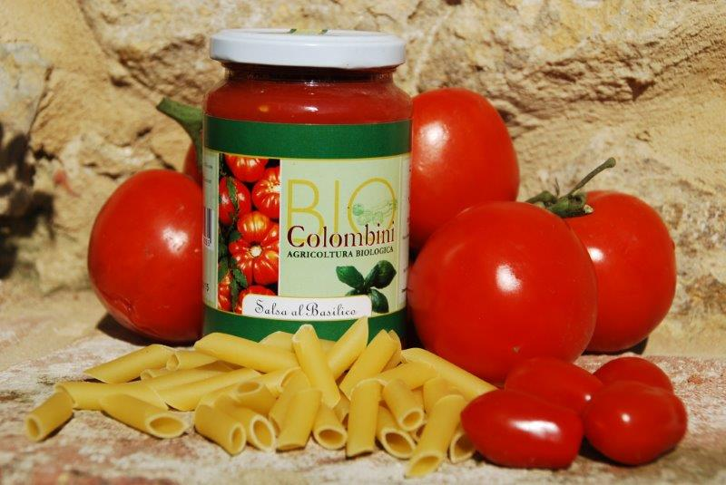 Organic tomato basil sauce BioColombini