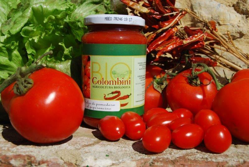 Organic tomato chili sauce BioColombini