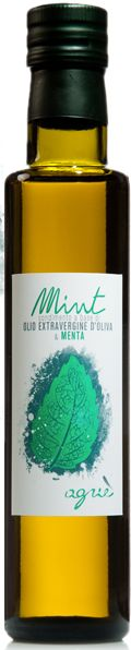 Mint - flavoured extra virgin olive oil - mint