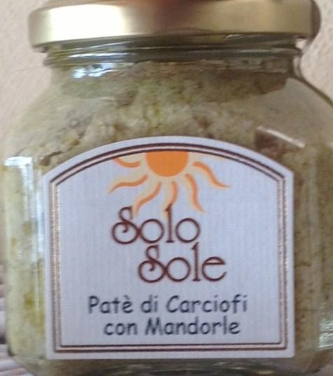 Artichoke and almond pat� - Solo Sole