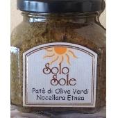 Pat� of green Nocellara Etnea olives - SoloSole