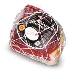 Piece of Prosciutto di Parma (parma ham) matured 30 months - Ghirardi Onesto