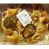 Zucchini and aubergine focaccia - Panificio Costantino