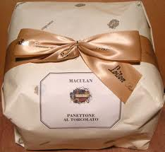 Panettone with Torcolato Maculan wine