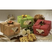 Panettone with dark chocolate chips and candied fruit - Pasticceria Flamigni