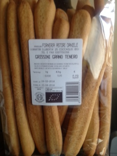 Artisan organic wheat Grissini - Forno Astori