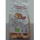 Artisan organic taralli with chilli - Forno Astori