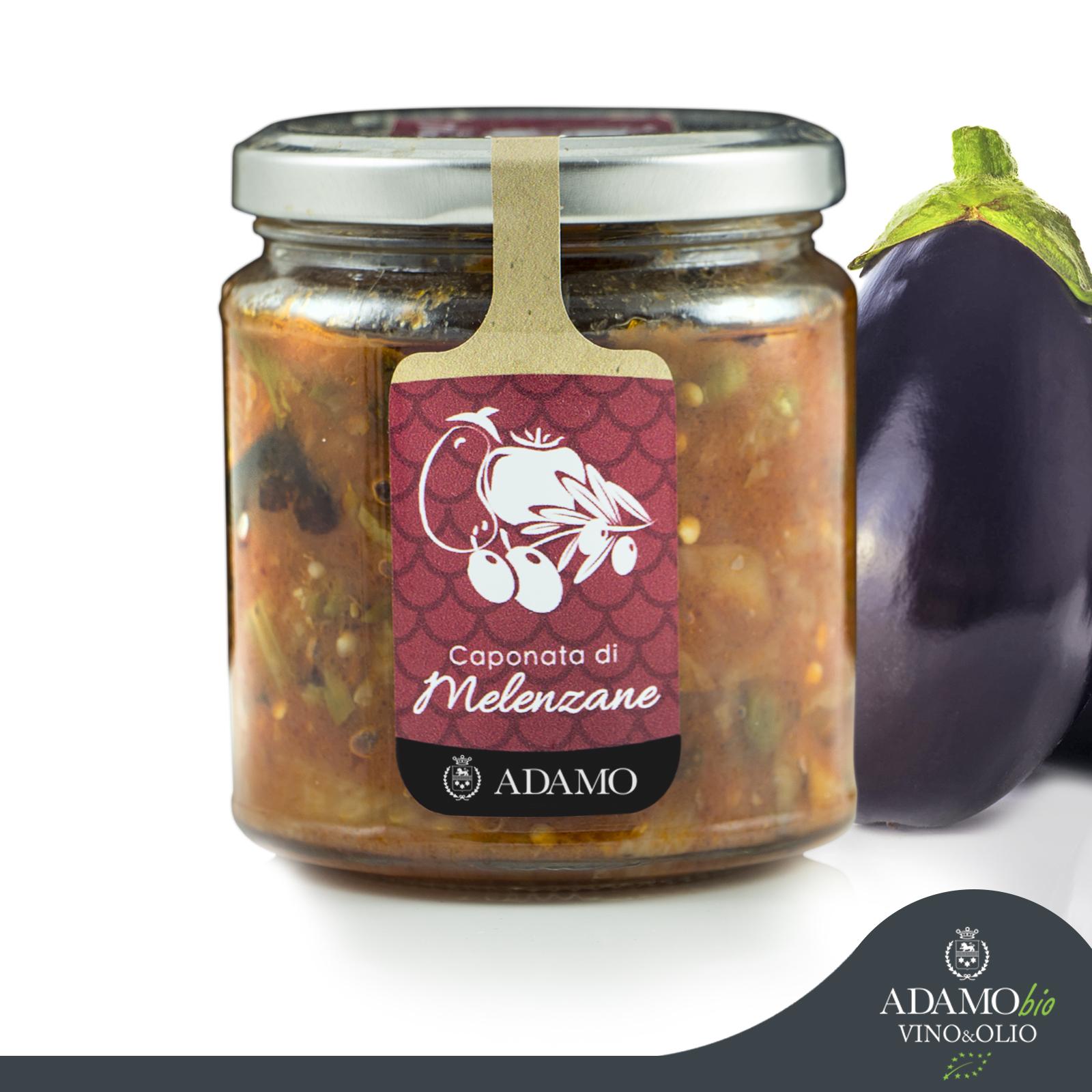 Sicilian Caponata - Azienda Agricola Biologica Adamo