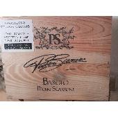 Barolo Poderi Scarrone - Cassa in legno Verticale  1999/2000/2001