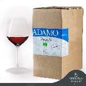Organic Red wine  Nero d'Avola IGP Terre Siciliana- ADAMO  Bag 10 Liters