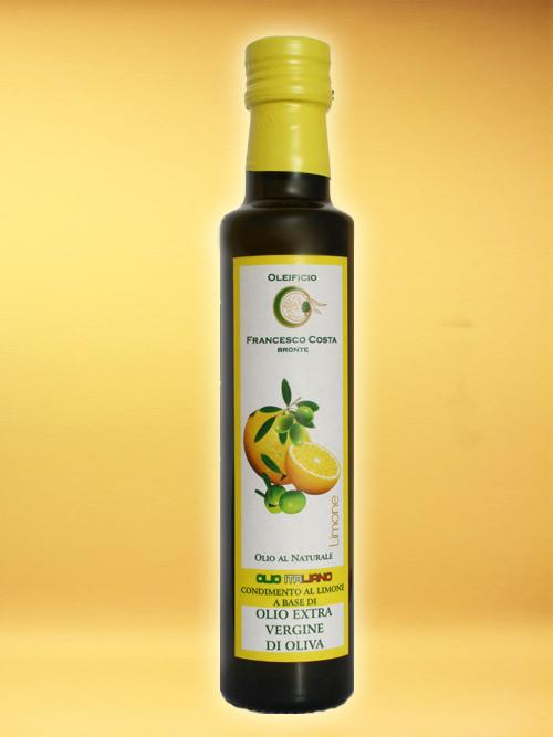 LEMON SEASONING BASED ON EXTRA VIRGIN OLIVE OIL- Oleificio Costa