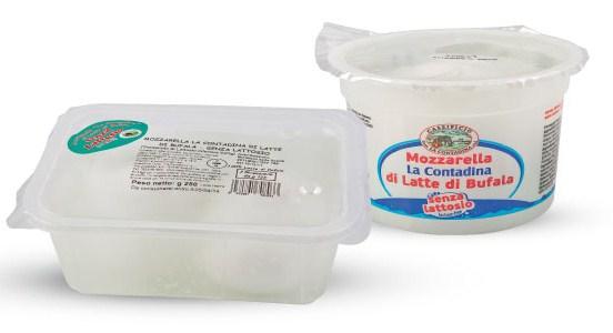 Campania Buffalo Mozzarella Without Lactose - La Contadina