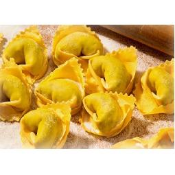 Tortellini tipici di Valeggio Fatti a Mano con ripieno di Carne  -Pastificio Menini