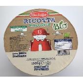 Ricotta Organic Milk 100% Italian - Bustaffa