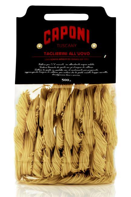 Taglierini (egg pasta) - Caponi