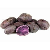 Kartoffeln, lila Kartoffeln, italienische lila Kartoffeln, Gem�se, italienisches Gem�se