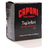 Tagliolini with truffles (egg pasta) Caponi