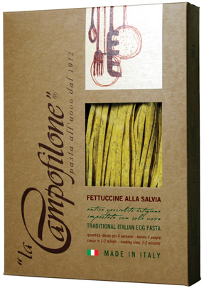 FETTUCCINE WITH SAGE