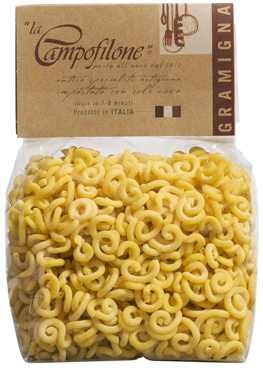 GRAMIGNA DI CAMPOFILONE Egg Pasta