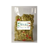 Olive Verdi Schiacciate alla Calabrese - Calabria Scerra
