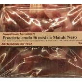 Raw Ham 36 months from Black Pork - Artigiani di Bottega