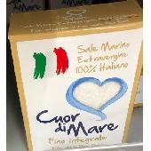 Sale Marino Extravergine Fino Integrale - Cuor di Mare