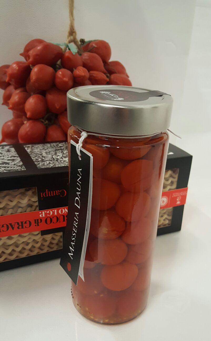 Pomodorini in water and salt - Masseria Dauna